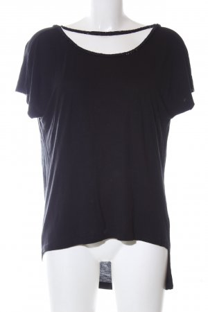 Religion Cowl-Neck Shirt black casual look