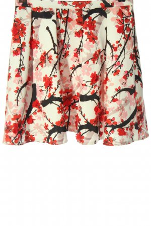 Relish Flared Skirt allover print elegant