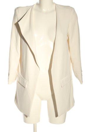 Relish Blazer lungo bianco sporco stile casual