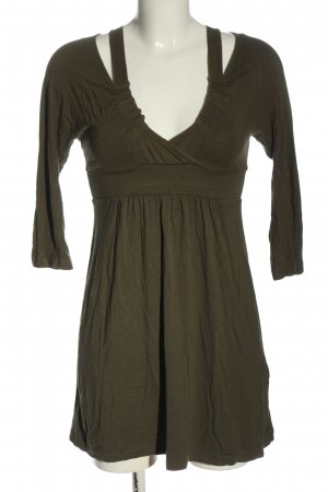 Relish Mini Dress khaki casual look