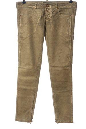 Relish Pantalone a sigaretta bronzo stile casual