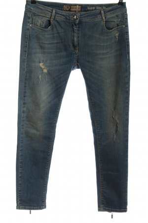 Relish Jeans a sigaretta blu stile casual