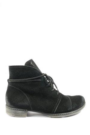Remonte Chukka boot noir style décontracté
