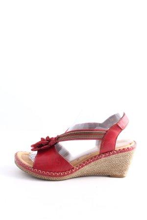 Remonte Komfort-Sandalen rot Casual-Look