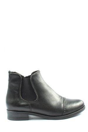 Remonte Reißverschluss-Stiefeletten schwarz Casual-Look