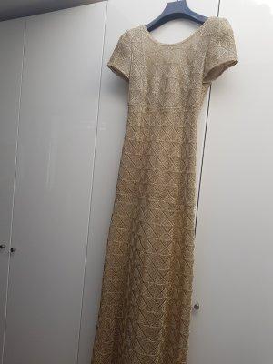 Rena Lange Abendkleid gold Größe 36