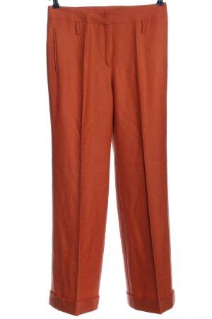 Rena Lange Pantalón de vestir rojo estilo «business»