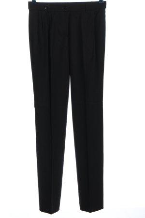 Rena Lange Pantalón de vestir negro estampado a rayas look casual