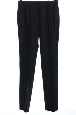 Rena Lange Pantalón de vestir negro look casual