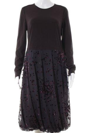 Rena Lange vestido de globo estampado a lunares look Street-Style