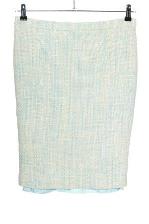 Rena Lange Pencil Skirt blue-white casual look