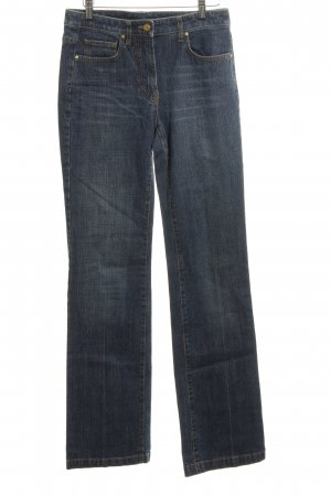 Rena Lange Boot Cut Jeans blau Casual-Look