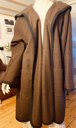 Rena Lange Oversized Coat brown-black