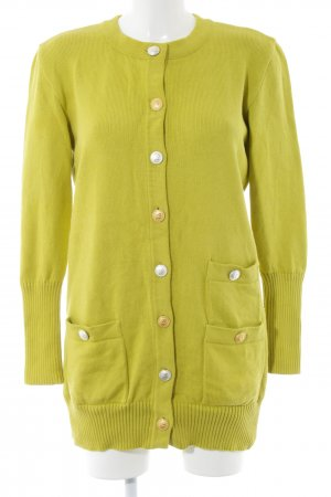 Rena Lange Cardigan grün Casual-Look