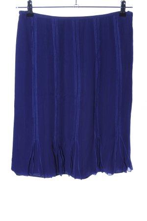 Rena Lange Glockenrock blau Streifenmuster Casual-Look