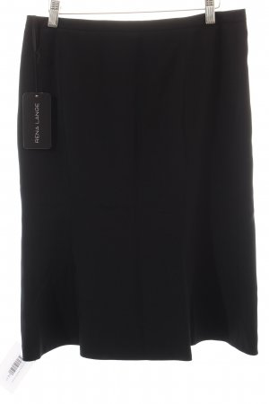 Rena Lange High Waist Rock schwarz Business-Look