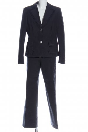 Rena Lange Trouser Suit blue casual look