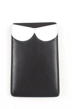 Rena Lange Custodie portacarte nero-bianco stile casual
