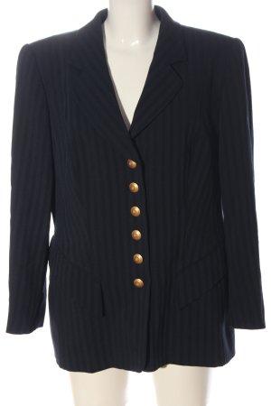 Rena Lange Klassischer Blazer dark blue striped pattern business style