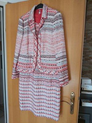 Rena Lange # Kleid & Blazer im leichten Tweed Look