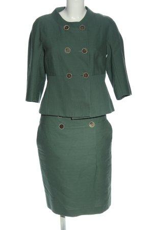 Rena Lange Kostium zielony W stylu biznesowym
