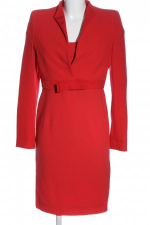 Rena Lange Kostüm rot Business-Look