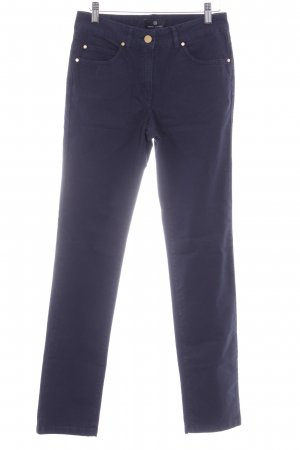 Rena Lange Strapped Trousers dark blue casual look