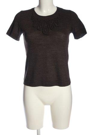 Rena Lange Strickshirt braun Casual-Look