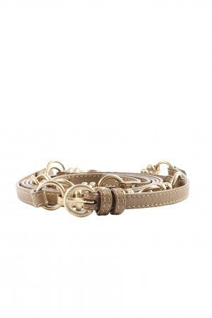 Rena Lange Waist Belt brown-gold-colored casual look