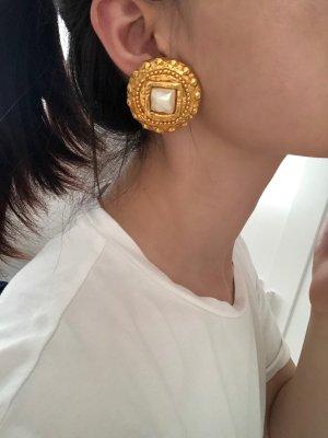 Rena Lange Orecchino a clip oro-bianco
