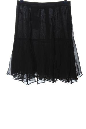 Rena Lange Volantrock schwarz Elegant