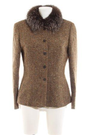 Rena Lange Wolljacke bronzefarben-braun meliert Elegant