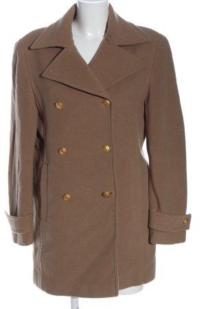 Rena Lange Wool Coat brown casual look