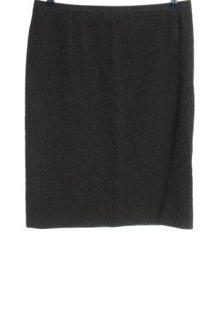 Rena Lange Wool Skirt light grey flecked business style