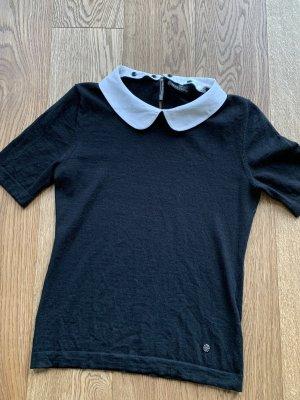 Rena Lange Koszula typu carmen czarny-biały