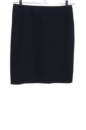 Rena Marx Jupe en lin noir style d'affaires