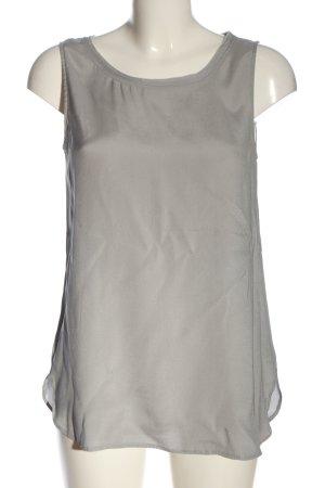Rena Marx Silk Blouse light grey casual look