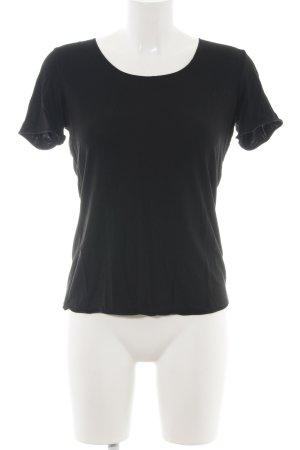 Rena Marx T-Shirt schwarz Casual-Look