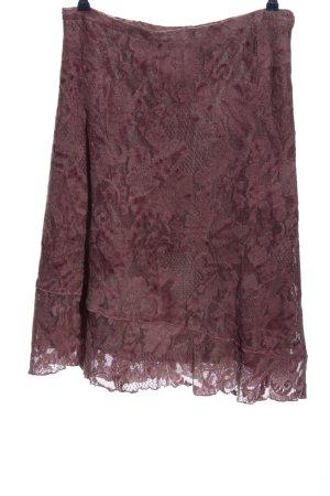 Renaissance Avoca Koronkowa spódnica różowy Elegancki