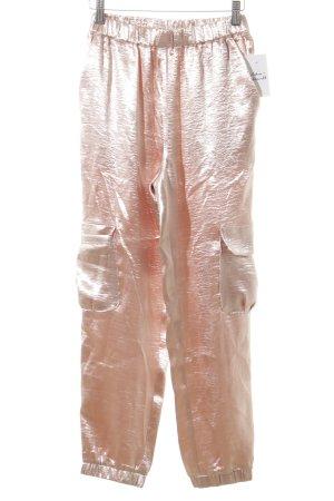 Renamed Apparel Stoffhose roségoldfarben Street-Fashion-Look