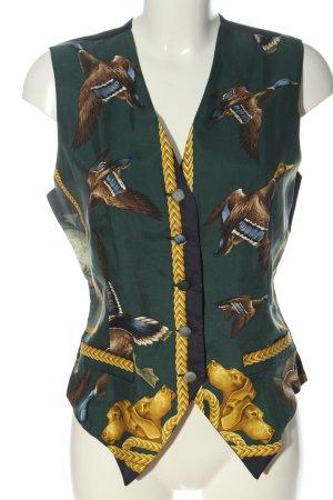 renard Waistcoat themed print elegant