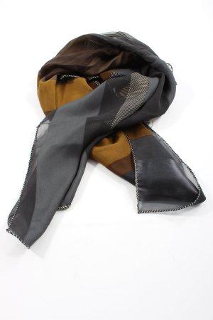 renard Panno di seta marrone-grigio chiaro stile casual