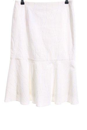 Renate Harvan Gonna a balze bianco stile casual