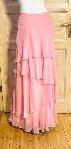 Renato Nucci Maxi Skirt light pink silk