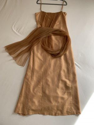 René Lazard Abendkleid mit Schal