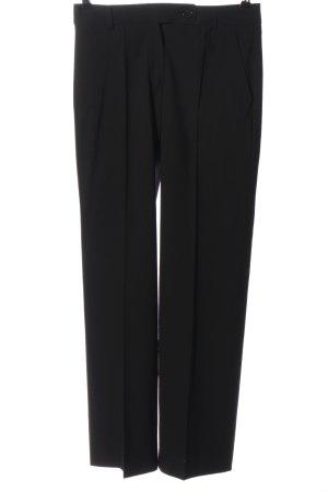 René Lazard Pantalone da abito nero stile professionale