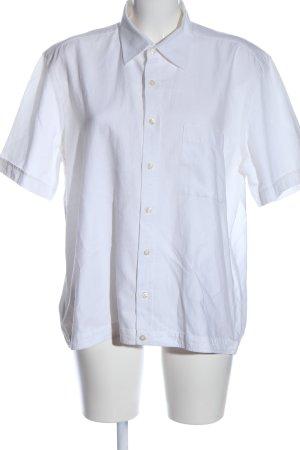 René Lazard Camisa de manga corta blanco estilo «business»