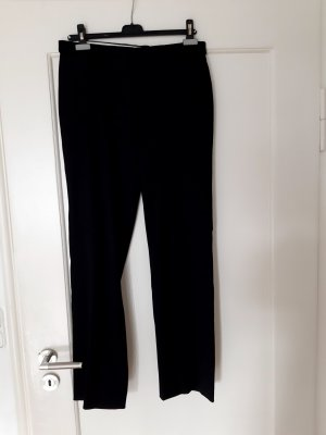 René Lezard Woolen Trousers black