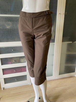 René Lezard 7/8 Length Trousers dark brown