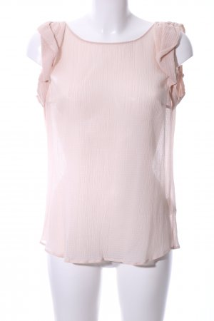 René Lezard ärmellose Bluse pink Business-Look